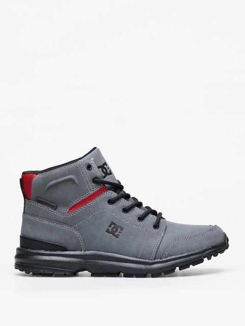 Zimní boty DC Torstein (grey/black/red)