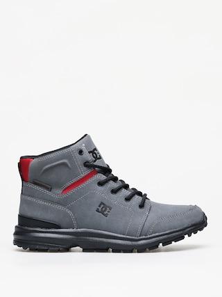 Zimnu00ed boty DC Torstein (grey/black/red)