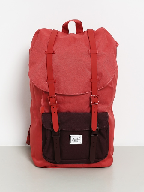 Batoh Herschel Supply Co. Little America (mineral red/plum)
