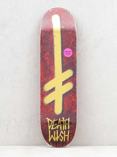 Deska Deathwish Gang Logo Holy (red/gold)