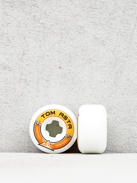 Kolečka Ricta Tom Asta Pro Rapido Slim 99 (white)