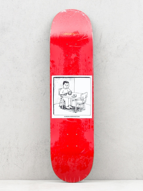 Deska Polar Skate Spilled Milk (red)