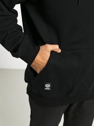 Mikina s kapucí MassDnm Big Box Medium Logo HD (black)