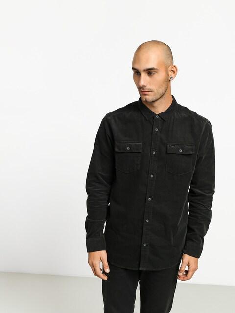 Košile RVCA Freeman Cord Ls (pirate black)