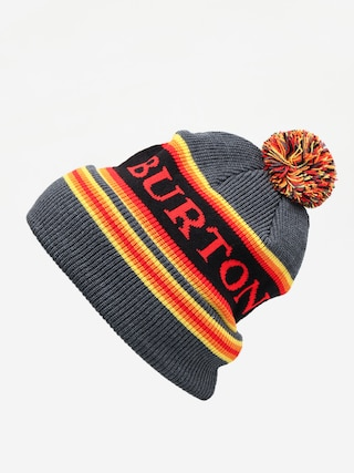 u010cepice Burton Trope Beanie (true black heather)