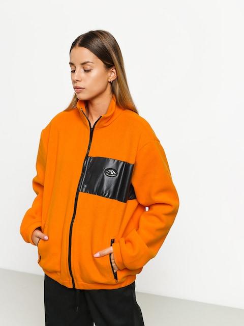 Fleecová mikina Local Heroes Orange Fleece Zip Wmn (orange)