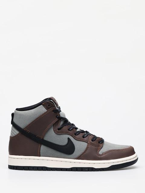 Boty Nike SB Dunk High Pro (baroque brown/black jade horizon)