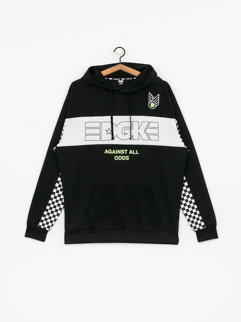 Mikina s kapucí DGK Finish Line HD (black)