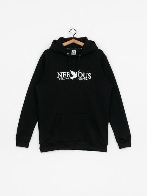 Mikina s kapucí Nervous Cls HD (black)