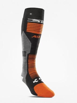 Ponou017eky ThirtyTwo Asi Merino Vapor (black/orange)
