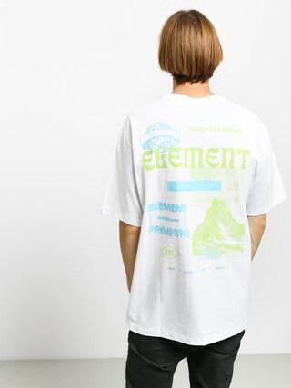Tričko Element Discover (optic white)
