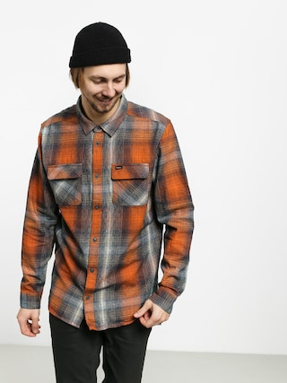 Kou0161ile RVCA Muir Flannel Ls (rust orange)