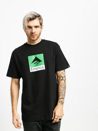 Tričko Emerica Classic Combo (black)