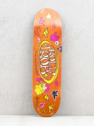 Deska Real Roll 4 Rob By Gonz II (orange)
