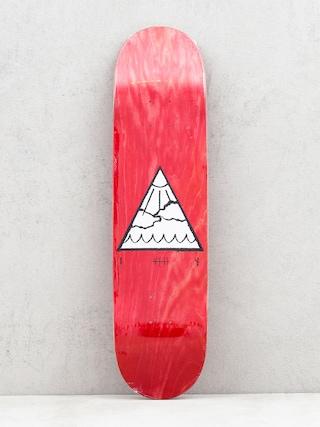 Deska Youth Skateboards Triangle Logo (red)