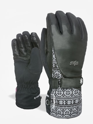 Rukavice Level Bliss I Crystal Gore Tex Wmn (black/grey)