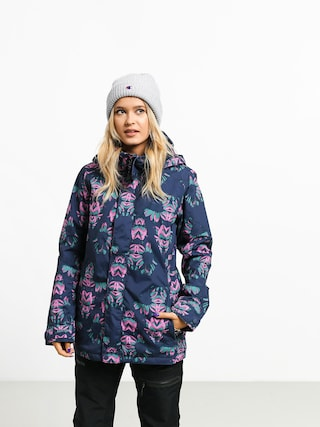 Snowboardovu00e1 bunda Burton Jet Set Wmn (dress blue stylus)