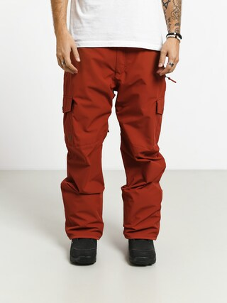 Snowboardovu00e9 kalhoty  Quiksilver Porter (barn red)