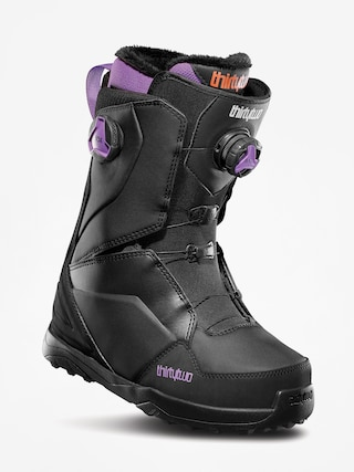 Boty na snowboard ThirtyTwo Lashed Double Boa Wmn (black/purple)