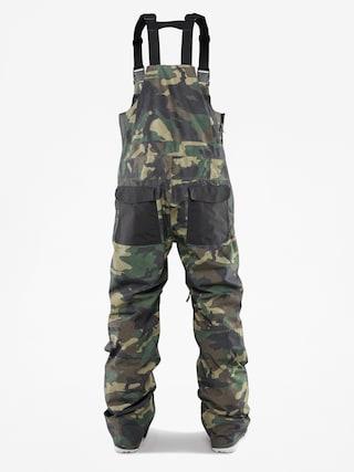 Snowboardovu00e9 kalhoty  ThirtyTwo Basement Bib (camo)