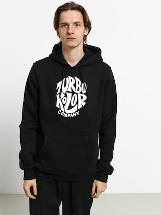 Mikina s kapucí Turbokolor Circle HD (black)