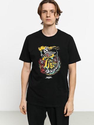 Tričko Turbokolor Seek (black)