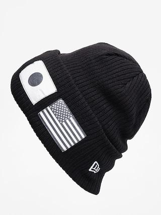 u010cepice New Era Flag Watch Knit (black/optic white)