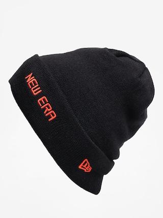 u010cepice New Era Cuff Knit (black/orange)