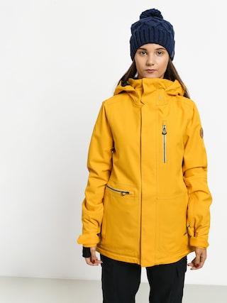 Snowboardovu00e1 bunda Volcom Shelter 3D Strch Wmn (yel)