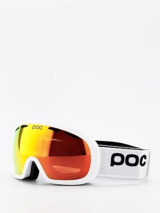 Bru00fdle na snowboard POC Fovea Mid Clarity (hydrogen white/spektris orange)