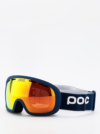 Bru00fdle na snowboard POC Fovea Mid Clarity (lead blue/spektris orange)