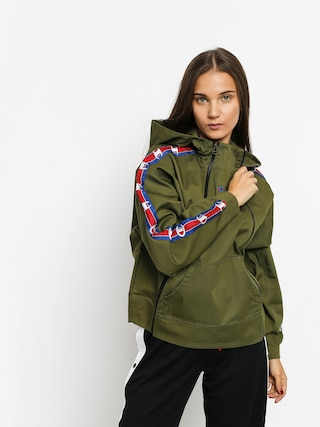 Mikina s kapucu00ed Champion Diagonal Hooded Full Zip ZHD Wmn (cpo)