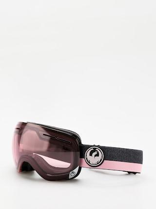 Brýle na snowboard Dragon X1s (flux pink/transitions light rose)
