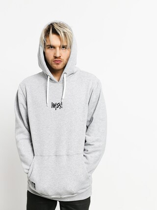 Mikina s kapucu00ed MassDnm Signature Small Logo HD (light heather grey)