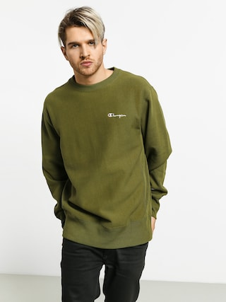 Mikina Champion Reverse Weave Crewneck Left Chest Logo (cpo)