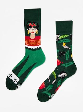 Ponožky Many Mornings Feel Frida (green)
