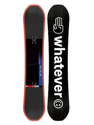 Snowboard Bataleon Whatever (black/white/orange)