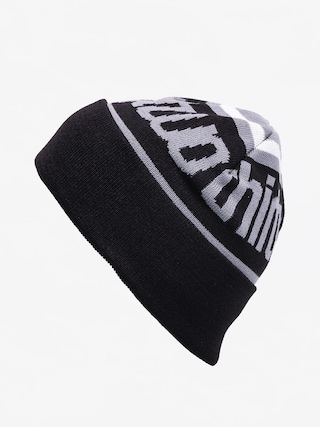 u010cepice ThirtyTwo Double Beanie (black)