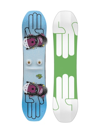 Snowboard set Bataleon Minishred (green/white)