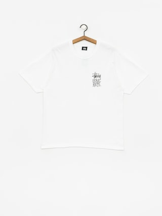 Tričko Stussy Global Roots (white)