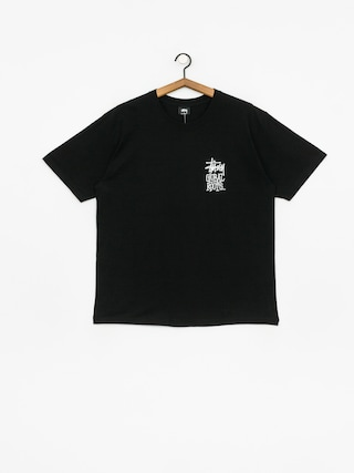 Tričko Stussy Global Roots (black)