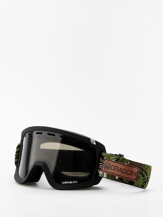 Bru00fdle na snowboard Dragon D1 OTG (icon camo/lumalens dark smoke/lumalens rose)
