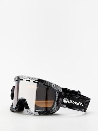 Bru00fdle na snowboard Dragon D1OTG (torn birch/lumalens silver ion/lumalens flash blue)