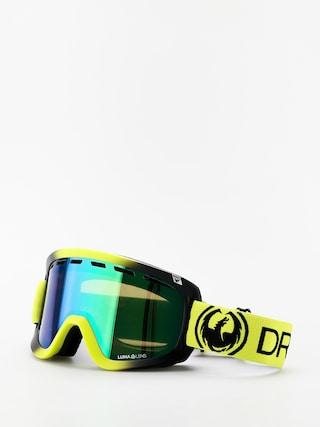 Bru00fdle na snowboard Dragon D1 OTG (lime/lumalens green ion/lumalens amber)