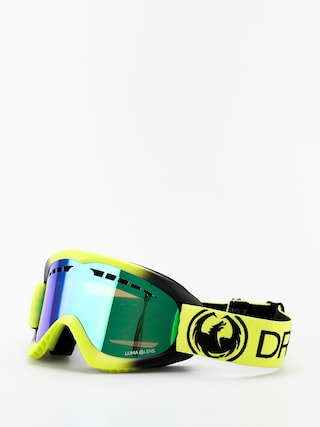 Bru00fdle na snowboard Dragon DX (lime/lumalens green ion)