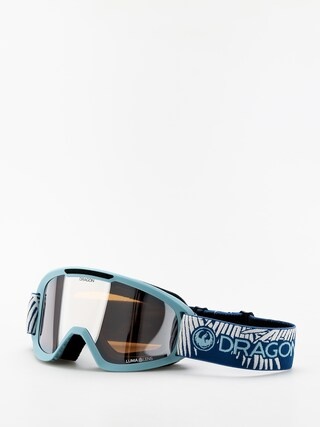 Bru00fdle na snowboard Dragon DX2 (woven palms/lumalens silver ion/lumalens flash blue)
