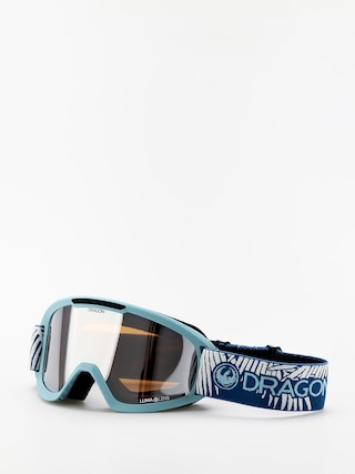 Brýle na snowboard Dragon DX2 (woven palms/lumalens silver ion/lumalens flash blue)