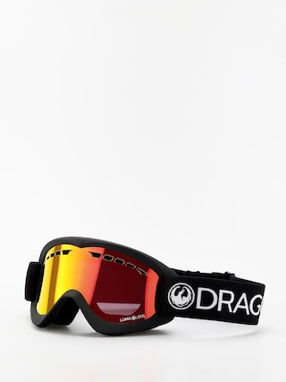 Brýle na snowboard Dragon DXS (black/lumalens red ion)