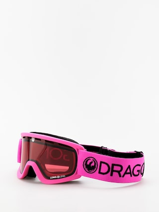 Brýle na snowboard Dragon Lil D (soft pink/lumalens rose)