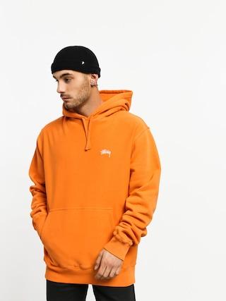 Mikina s kapucu00ed Stussy Stock Logo HD (orange)